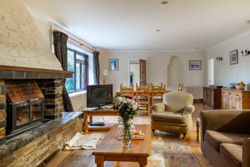 Beavers Lodge holiday cottage Living Area