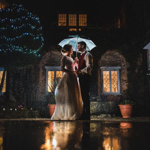 Weddings at Budock Vean Cornwall night shot