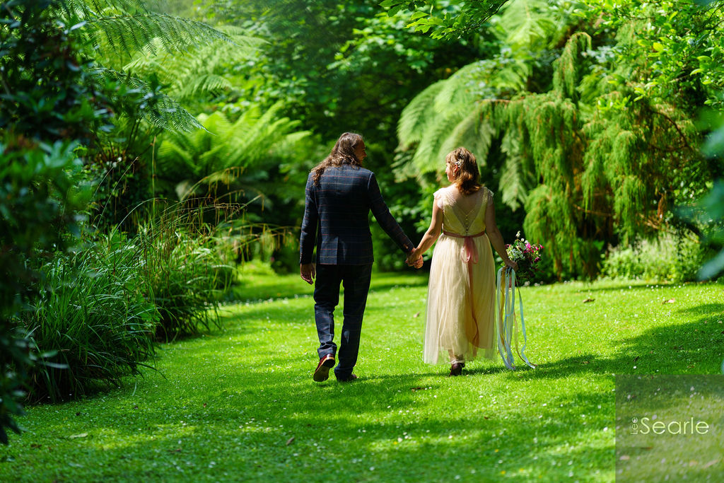 Paul and Leona Wedding at Budock Vean Hotel Cornwall