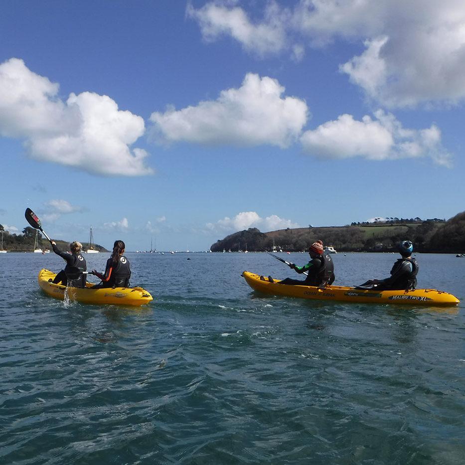 Kayaking in Cornwall | Budock Vean Hotel